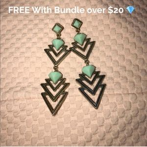 Long earrings free w bundle